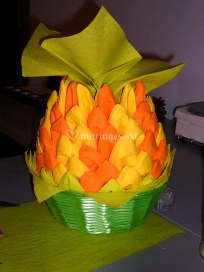 Ananas en serviettes
