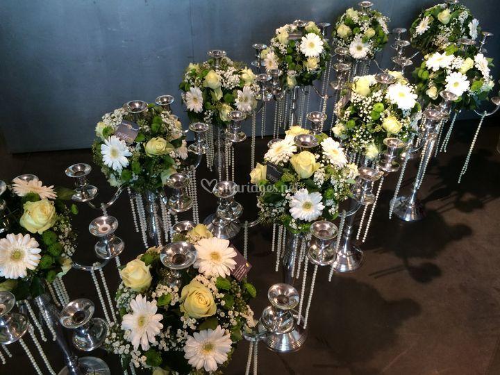 Décoration sur Comptoir Floral