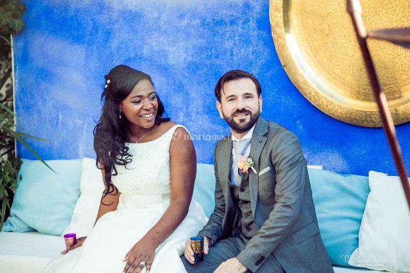 Vive les mariés Fatima&Gilles