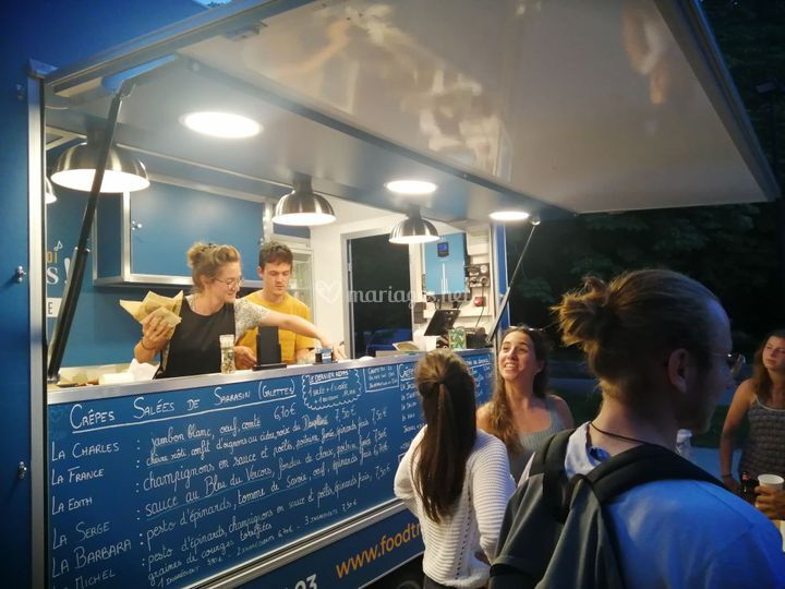 Foodtruck crêpes Grenoble