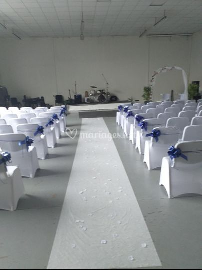 Salle de cérémonie religieuse