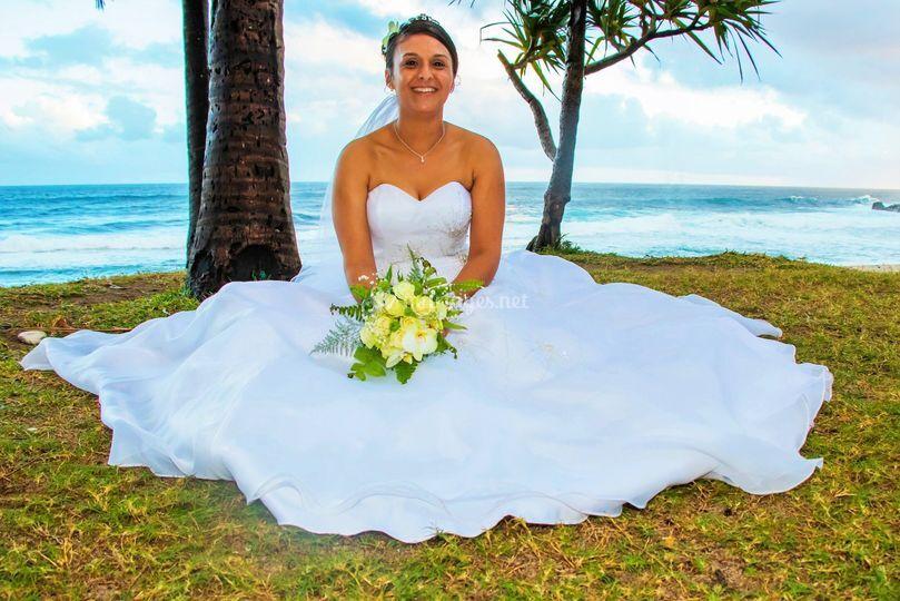Une très belle mariée