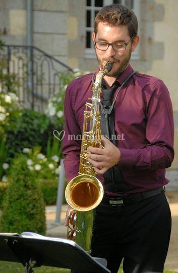 Artiste saxophoniste