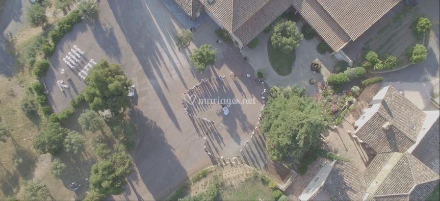 Screen drone