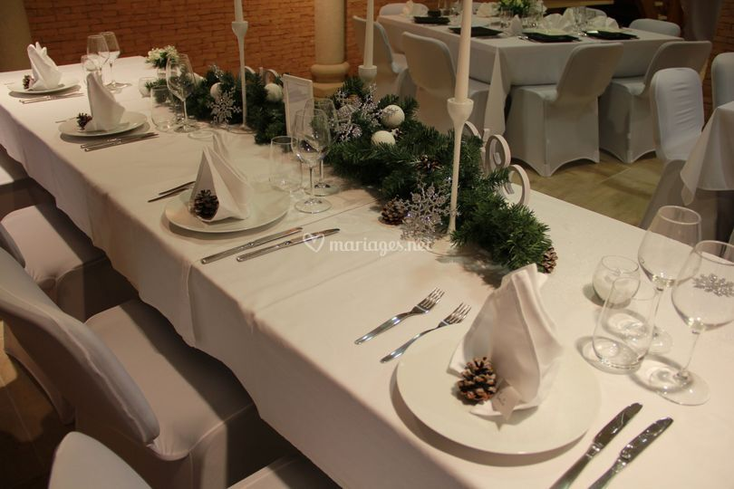 Table hivernal