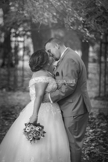 Retrouvailles des mariés