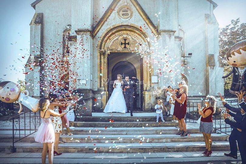 Mariage moselle église