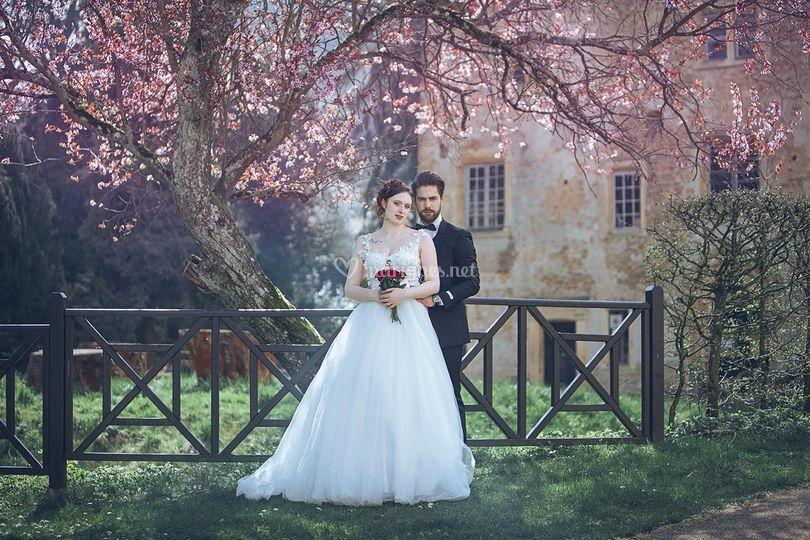 Mariage Thionville - mariés