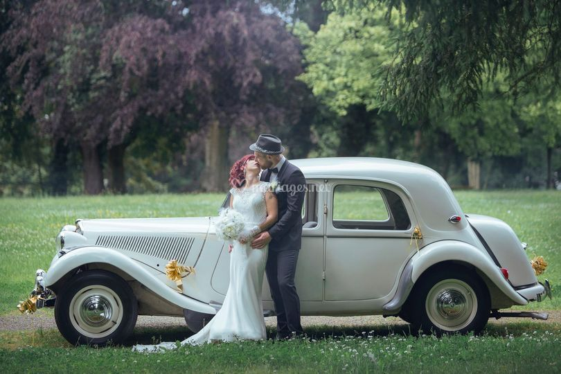 Coupl ebelle voiture