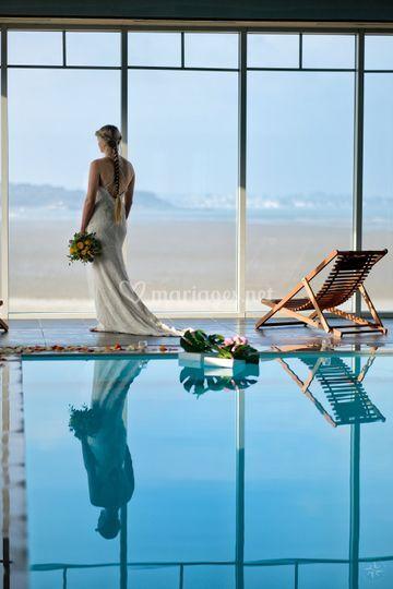 Mariage au Spa vue mer