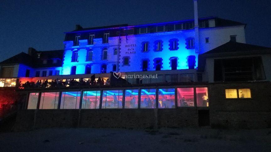 L'hôtel de la plage - nuit