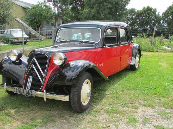 Citroën traction familial