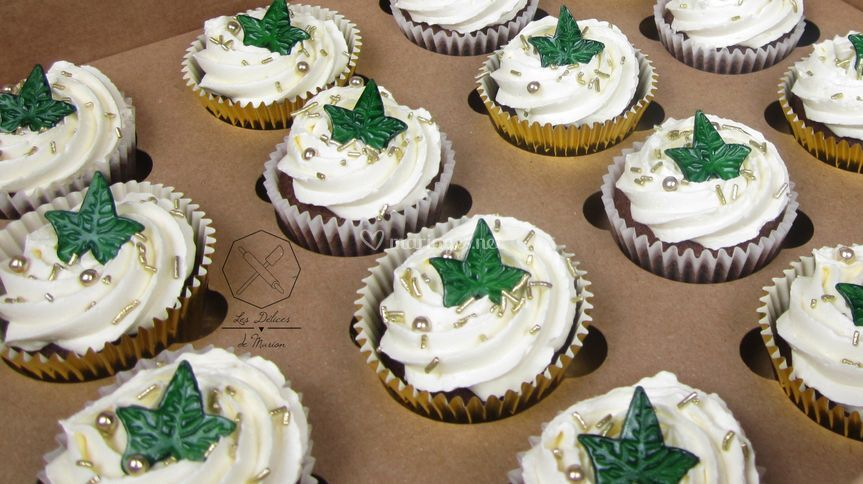 """Cupcakes """"Lierre"""""""