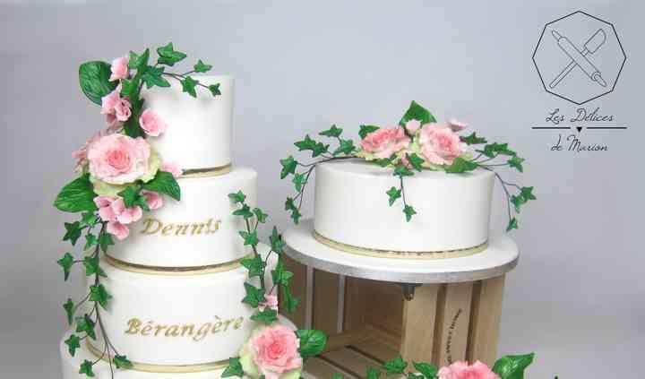 "Wedding cakes ""Champêtre"""