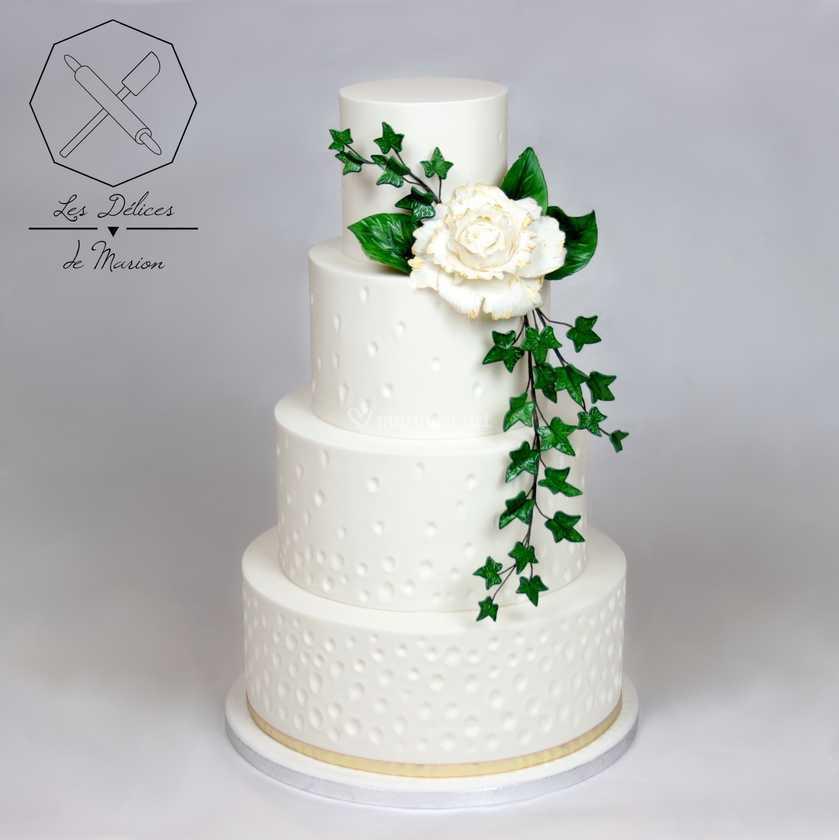 Wedding Cake Champetre Chic De Les Delices De Marion Photos