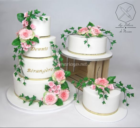 "Wedding cakes ""Champêtre"""