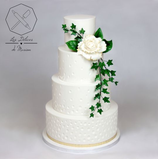 "Wedding cake ""Champêtre chic"""