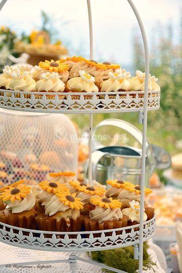 Cupcakes champêtre