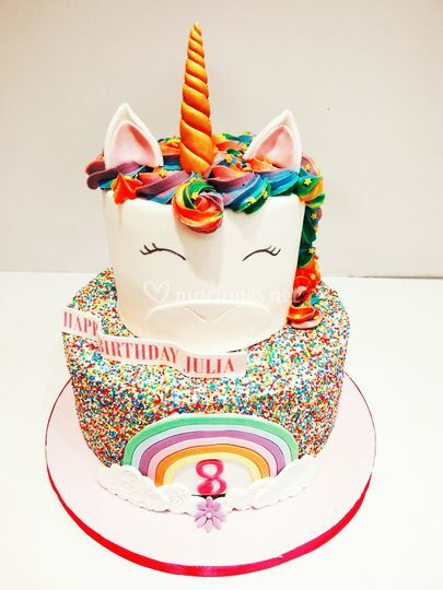 Licorne cake anniversaire