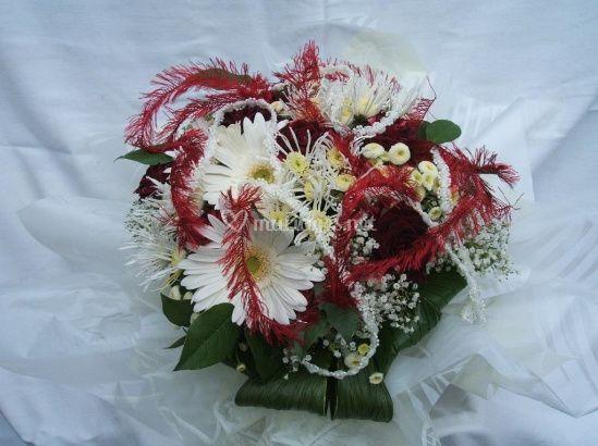 Bouquet à réserve d'eau