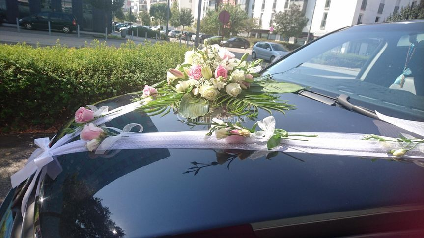 Exemple décoration de voiture