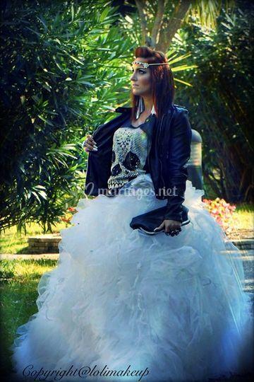 Lolimakeup mariée