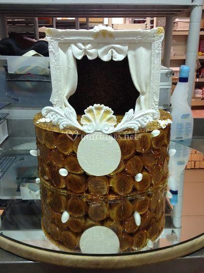 Gâteau thème pièce de théâtre