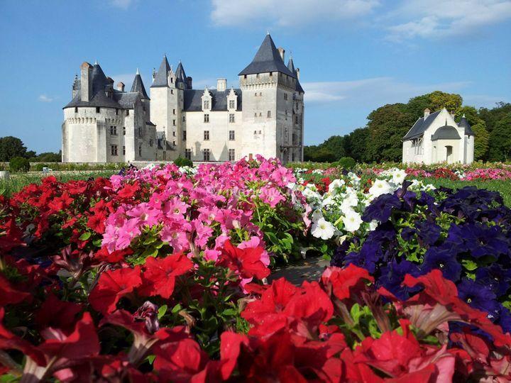 Château aux printemps