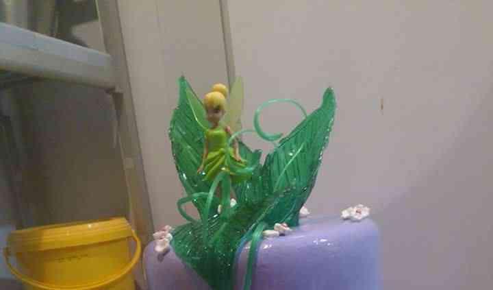 Le gâteau fée clochette