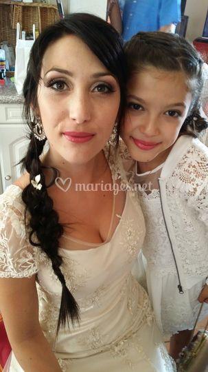 Makeup Adelina Mariage