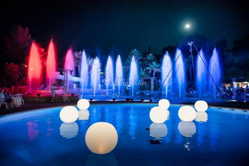 Spectacle de nuit