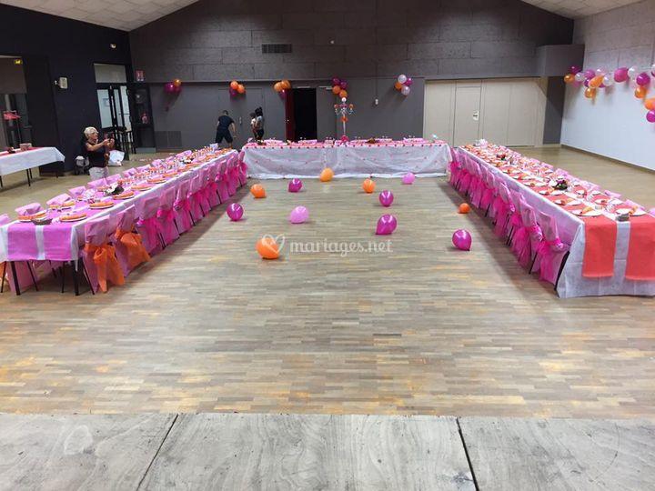 Déco salle des mariés