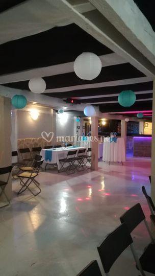 Salle pour mariage