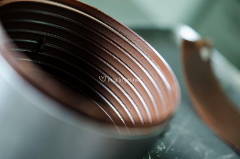 Travail du chocolat