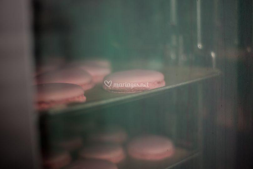 Cuisson de macarons