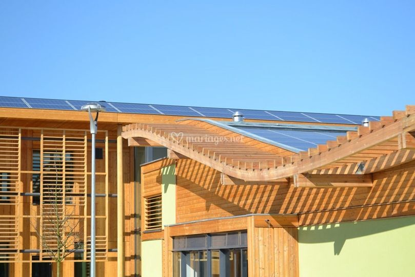 Bâtiment bois eco conçu