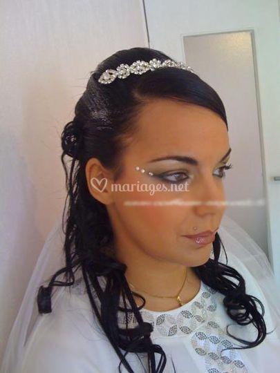 Coiffeuse et maquilleuse a domicile à Nice spécialiste mariage