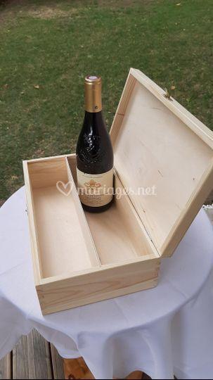 Rituel de la boîte de vin