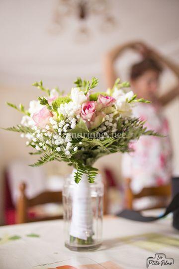 Le bouquet attend...