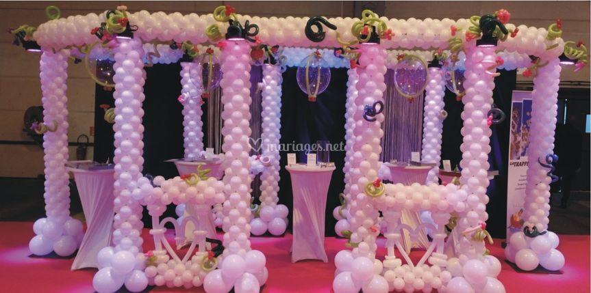 Décor salon du mariage