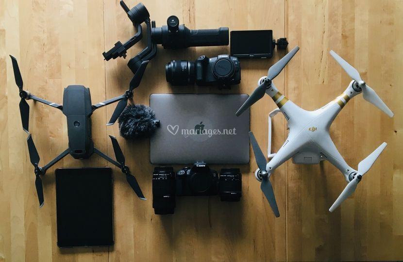 L.V Drone et Production