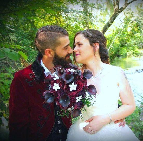 Bouquet éternel de la mariée