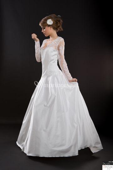 Robe de mariée satin Kate