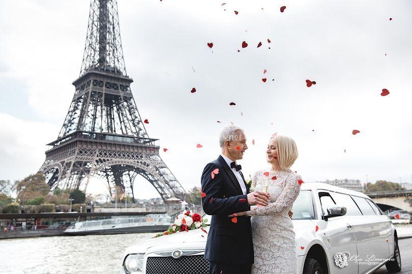 Renouvellement de vœux à Paris