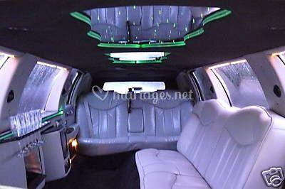 L'interieur de la limousine