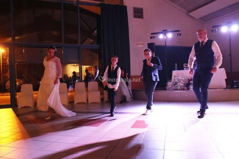 Line Dance en famille