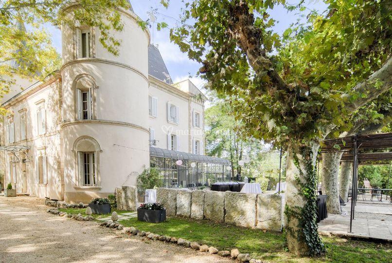 Extérieurs - Château de Nans