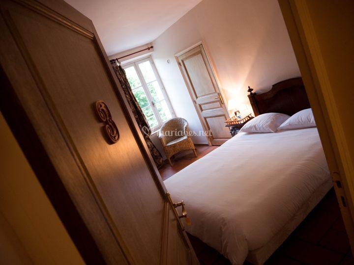 Chambre - Château de Nans