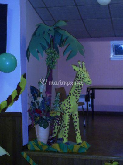 Décor Giraffe