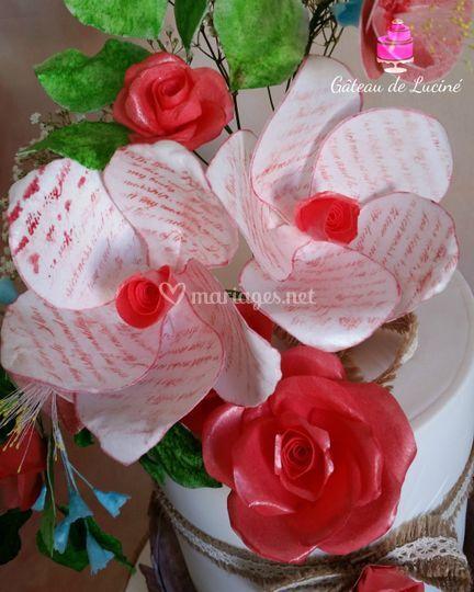 Fleurs imaginaires comestibles